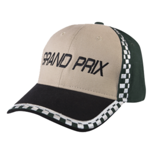 GRAND PRIX STYLE CAP