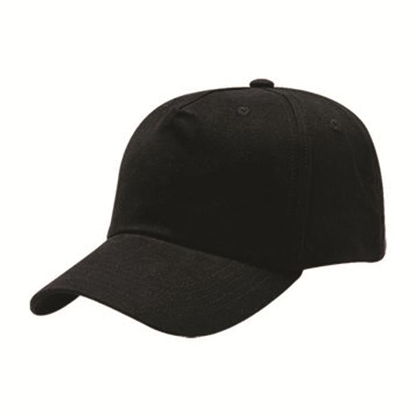5 PANEL HEAVY BRUSHED COTTON CAP