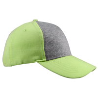 JERSEY TWO TONE CAP (JER06 LIME / GREY)