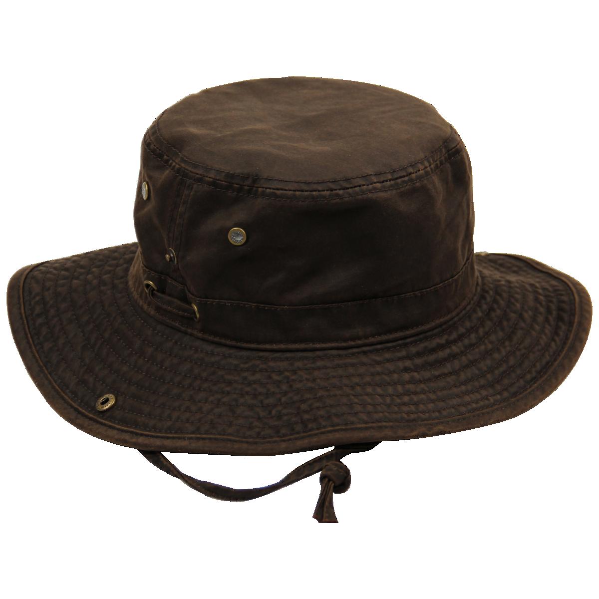 Oil Skin Bush Hat