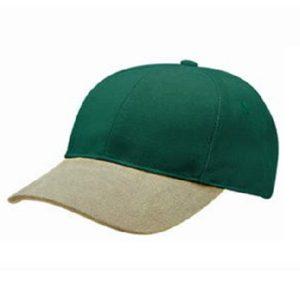 HEAVY BRUSHED COTTON 2 TONE CAP